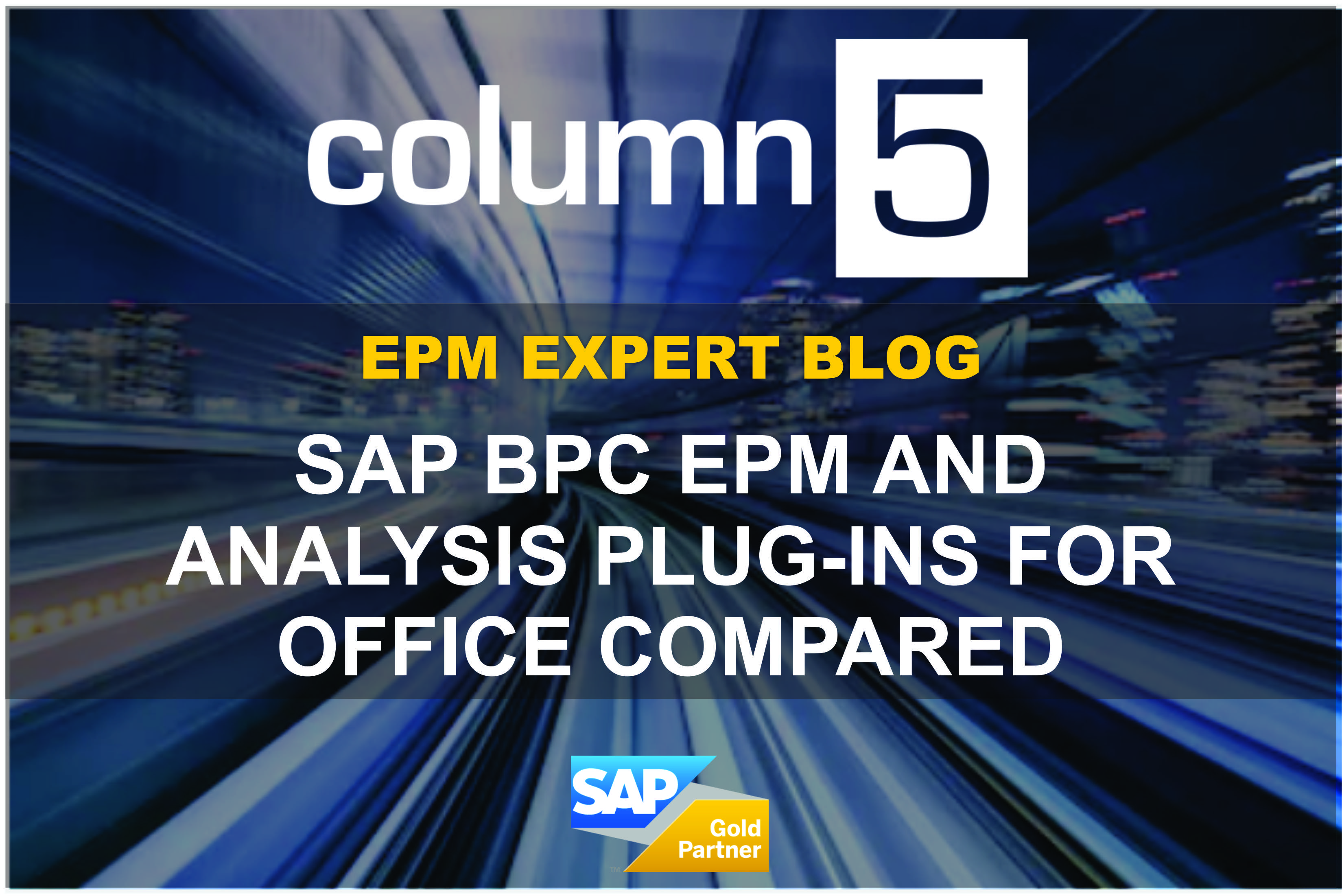 SAP BPC EPM and Analysis plug-ins for Office Compared